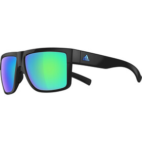 adidas 3 Matic black shiny/blue